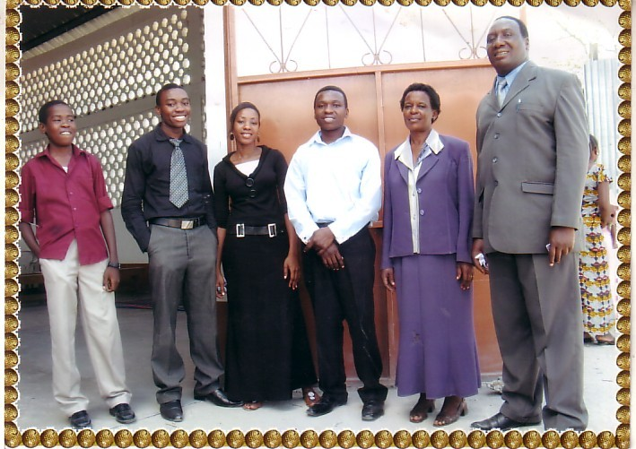Pastor Kimbe and His Family